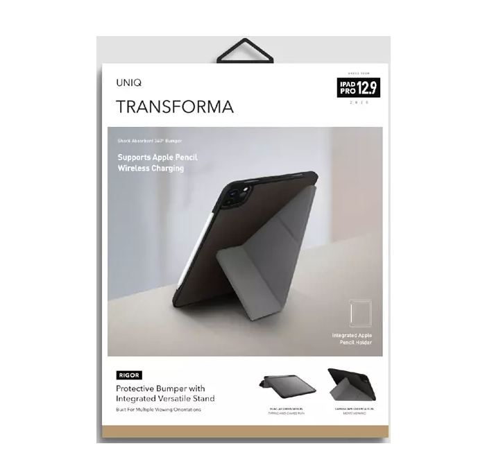Uniq Transforma iPad Pro 12,9 2020 Black