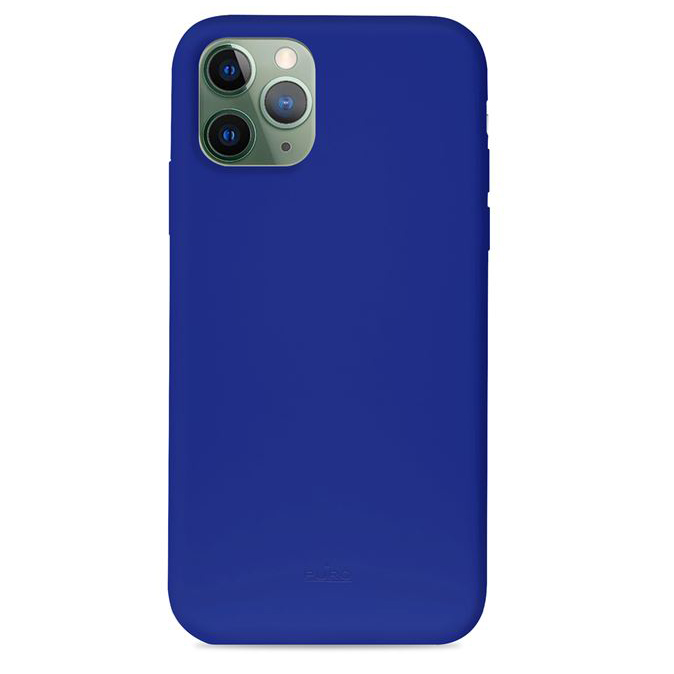 Puro Cover Silicon with microfiber inside for iPhone 11 Pro Dark Blue