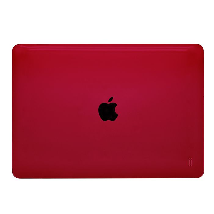 "Aiino - Shell Glossy case for MacBook Air 13"" (2020) - RED"