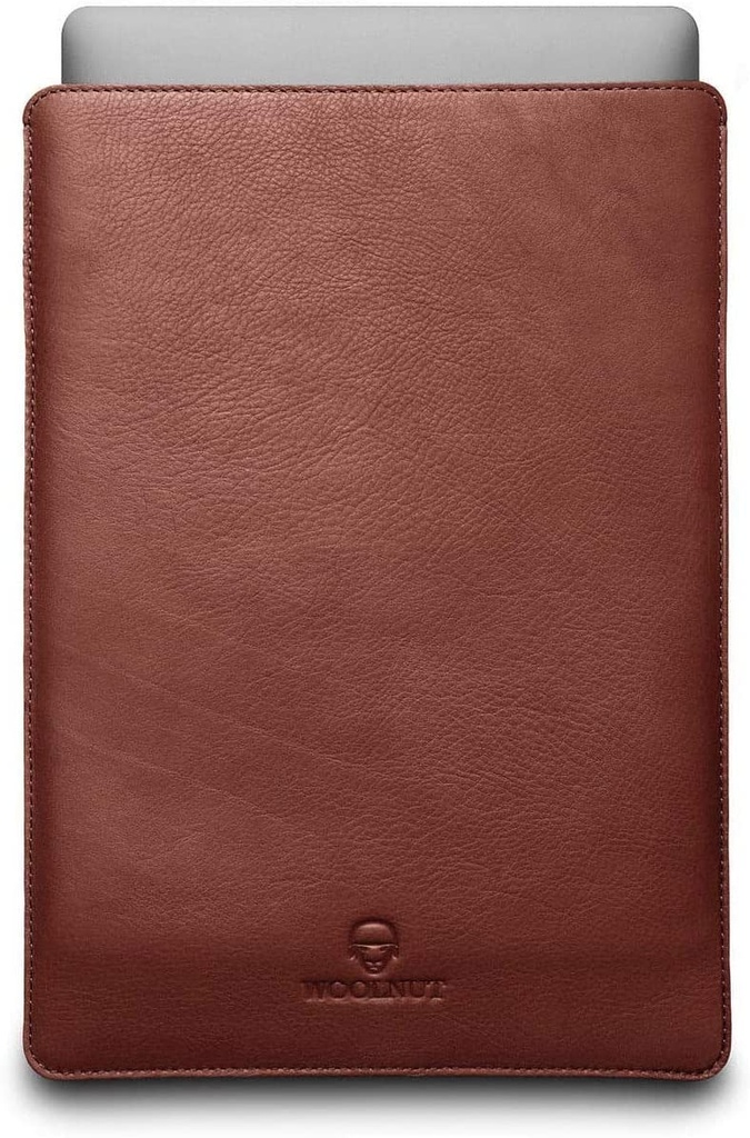 Woolnut Macbook Pro 15 Sleeve - Cognac