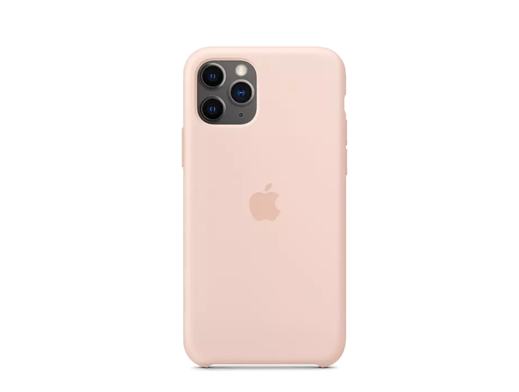 iPhone 11 Pro Silicone Case - Pink Sand