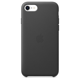 [MXYM2ZM/A] iPhone SE Leather Case - Black