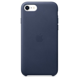 [MXYN2ZM/A] iPhone SE Leather Case - Midnight Blue