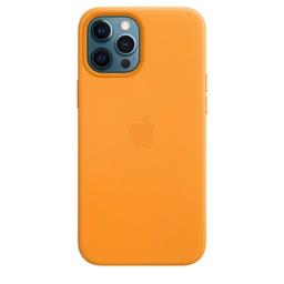 [MHKH3ZM/A] iPhone 12 Pro Max Leather Case with MagSafe - California Poppy