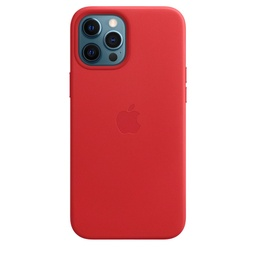 [MHKJ3ZM/A] iPhone 12 Pro Max Leather Case with MagSafe - (PRODUCT)RED