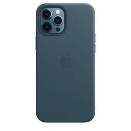 [MHKK3ZM/A] iPhone 12 Pro Max Leather Case with MagSafe - Baltic Blue