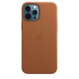 [MHKL3ZM/A] iPhone 12 Pro Max Leather Case with MagSafe - Saddle Brown