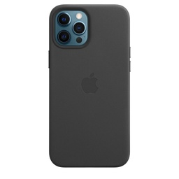 [MHKM3ZM/A] iPhone 12 Pro Max Leather Case with MagSafe - Black