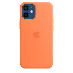 [MHKN3ZM/A] iPhone 12 mini Silicone Case with MagSafe - Kumquat