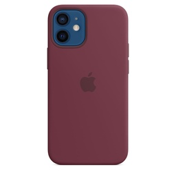 [MHKQ3ZM/A] iPhone 12 mini Silicone Case with MagSafe - Plum