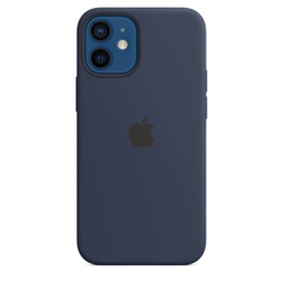 [MHKU3ZM/A] iPhone 12 mini Silicone Case with MagSafe - Deep Navy
