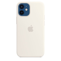 [MHKV3ZM/A] iPhone 12 mini Silicone Case with MagSafe - White