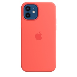 [MHL03ZM/A] iPhone 12 | 12 Pro Silicone Case with MagSafe - Pink Citrus