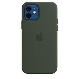 [MHL33ZM/A] iPhone 12 | 12 Pro Silicone Case with MagSafe - Cypress Green