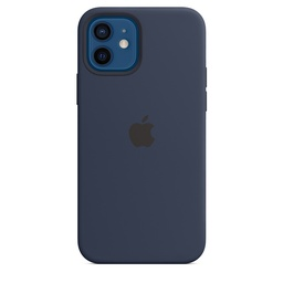 [MHL43ZM/A] iPhone 12 | 12 Pro Silicone Case with MagSafe - Deep Navy