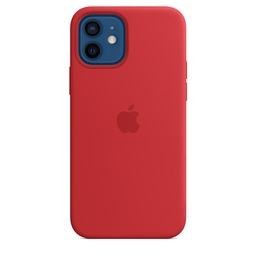 [MHL63ZM/A] iPhone 12 | 12 Pro Silicone Case with MagSafe - (PRODUCT)RED