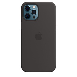 [MHLG3ZM/A] iPhone 12 Pro Max Silicone Case with MagSafe - Black