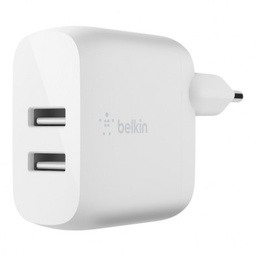 [WCD001VF1MWH] Belkin charg secteur double USB